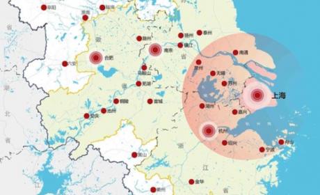 中国五大城市群的城市产业地图(一)长三角城市群产业分工布局